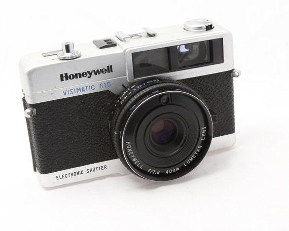 35mm Rangefinder Camera - Honeywell  Visimatic 615 - 1960s Rangefinder