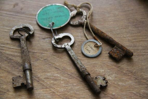 Set of 3 Skeleton Keys