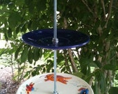 "Bird Feeder - Bright and Fun Dishes - ""Can't Catch Me"""