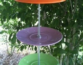 "Bird Feeder - Bright and Fun Dishes - ""Garden Candy"""