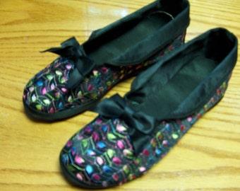 Vintage Blum's House Shoes 6.5