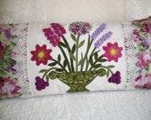 Pillow Pattern 3D FLOWERS