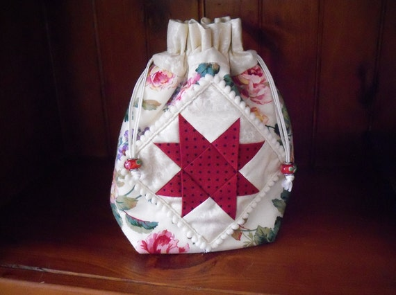 Mug Bag Pattern, sewing bag, dilly bag, bag, pdf FOLDED STAR
