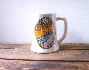 beer stein mug- 80s beer stein wallace berrie