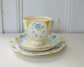 Royal Grafton bone china trio tea cup candle pattern Zealand