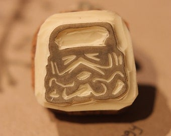 Stormtrooper Rubber Stamp Made to Order