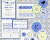 It's A Boy Baby Shower Printable Set