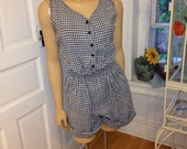 The Country Girl Romper (s/m/l)