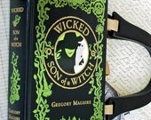 Wicked/Son of a Witch Book Cover Purse