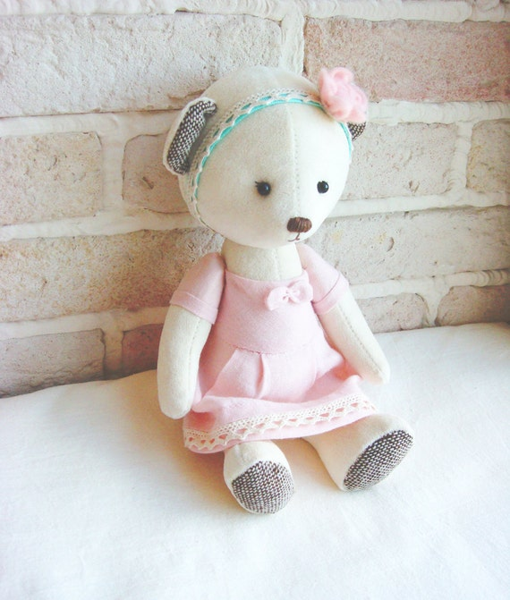Teddy Bear Milky Soft Velvet Handmade Toy