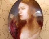 Art Magnet portrait of a woman by Leanna TenEycke