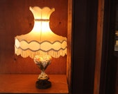 Vintage Porcelain Victorian French Style Table Top Lamp