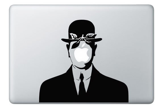 Items Similar To Mac Decal Vinyl  Son Of Man  Apple. Triangle Signs. Hads Signs. 2 Year Old Signs. Letter Label Stickers. Premium Wall Murals. Blues Brothers Murals. Coming Soon Signs. Photography Studio Banners