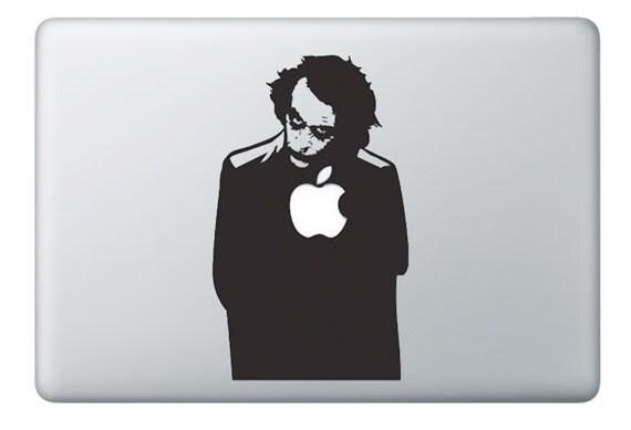Mac Decal - The Joker - Apple Macbook Vinyl Decal Sticker