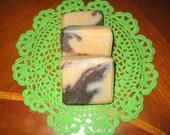 Cinnamon Banana Chocolate Soap 2.5-3.5 ounces