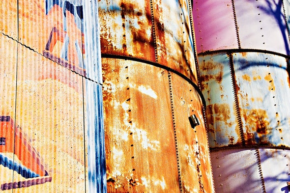 Johnson CIty, TX  Photography - decorative photography print - wall art - home decor - water tower photo - multiple sizes