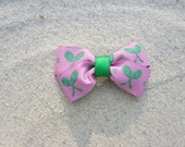 Preppy Pink Tennis Bow by Cape Cod Preppy