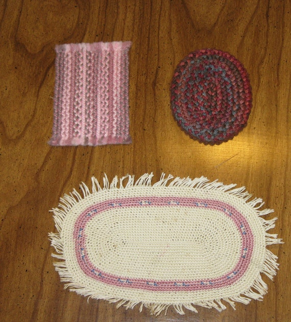 Miniature Doll House Rugs (3)