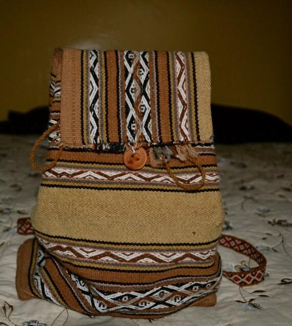 Tan Indigenous Bag