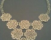 Post 2.59 - Beautiful Filigree Vintage Necklace