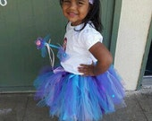 Little Mermaid 3 piece tutu outfit