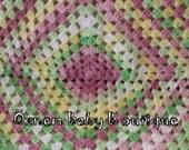 Free Shipping Baby Blanket / Green / White / Yellow / Pink /