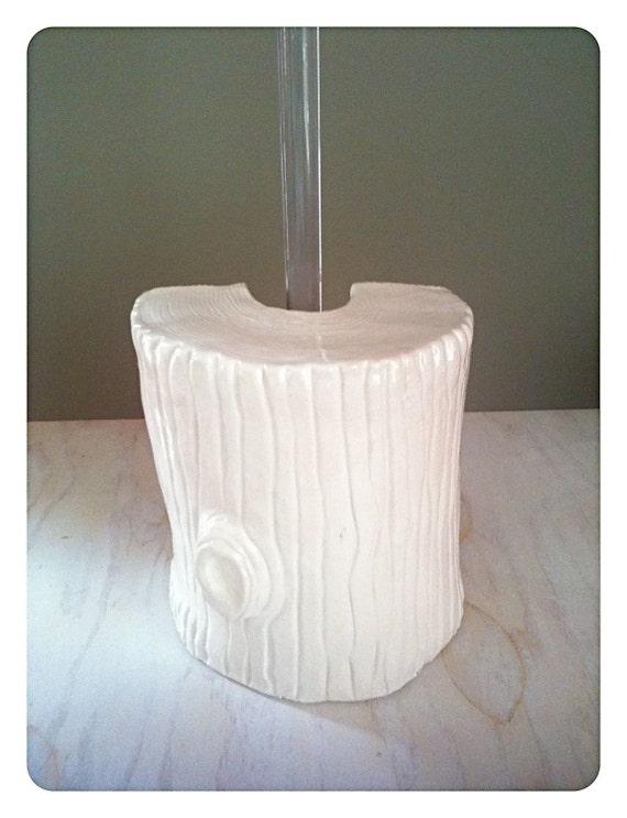 nature 39 s own log plunger cover. Black Bedroom Furniture Sets. Home Design Ideas