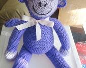 Custom Amigurumi Monkey Stuffed Animal