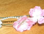 Maia's Sovereign- Blush pink flowers with pearls