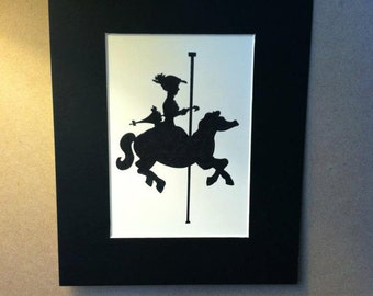 Disney Mary Poppins Silhouette