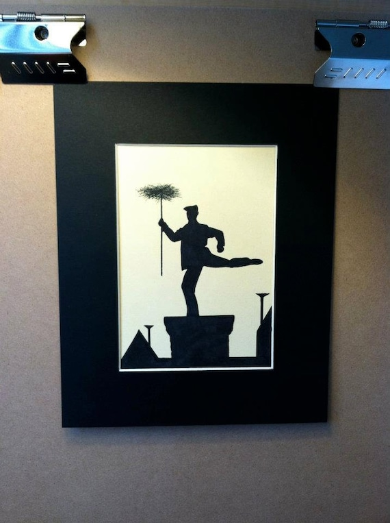 Mary Poppins Chimney Sweep Silhouette Images Disney Mary Poppins Ch...