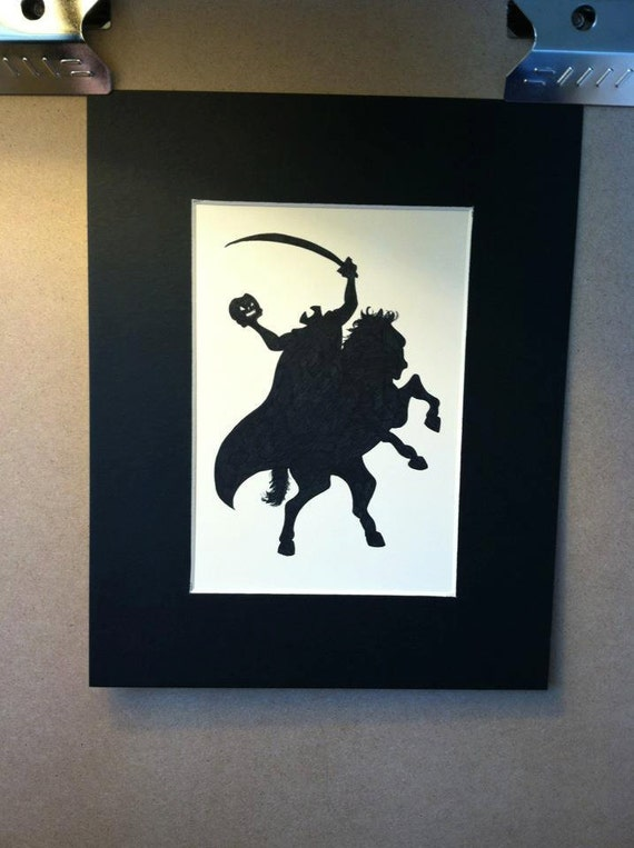 Disney The Legend Of Sleepy Hollow Silhouette