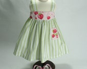 Fits 18 in  Doll American Girl Doll Sundress with Hearts