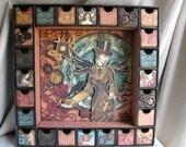 Steampunk Advent Calendar/Shadow Box