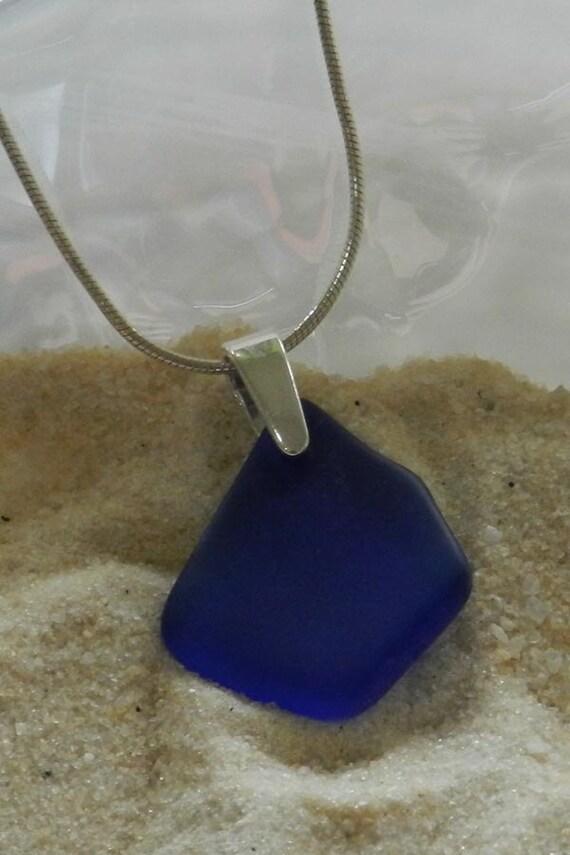 Blue Glass Pendant
