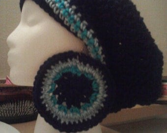 The Blues Tam and Earrings Set