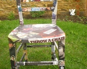 Handmade Decoupage Chairs: Made to order, The Beatles, Oasis, Beano, Dandy...