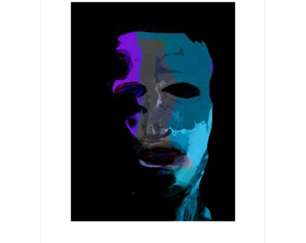 Night Man - Limited Edition Pigment Print