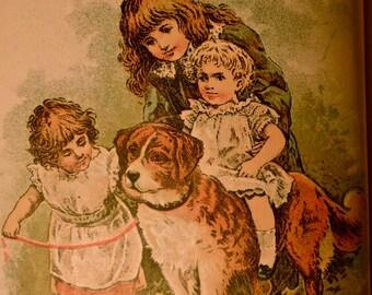 1897 COLUMBUS SERIES First Reading Book VINTAGE
