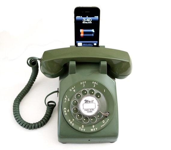 Rotary Phone Iphone Dock