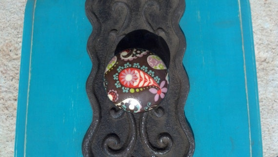 antique door knob wall hanger
