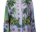 DISCOUNT ABOUT 60% OFF Versace Couture Vintage Colorful Blouse
