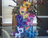 My Little Pony Silly Filly Perler Ponies: Mane Six Set
