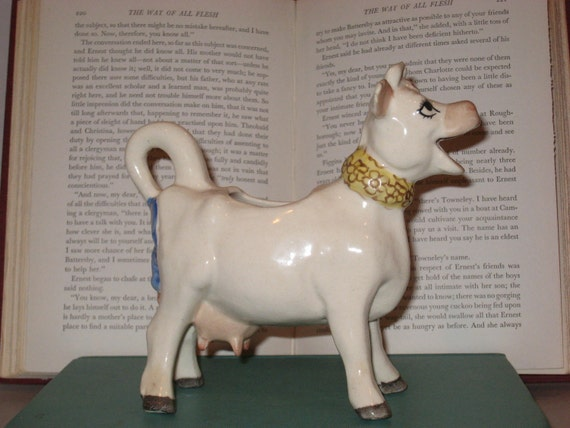 Borden's Elsie the Cow circa.1950's, grindley ware creamer pitcher