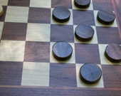 Chess & Checker Table w/pieces