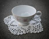 Antique Floral Teacup