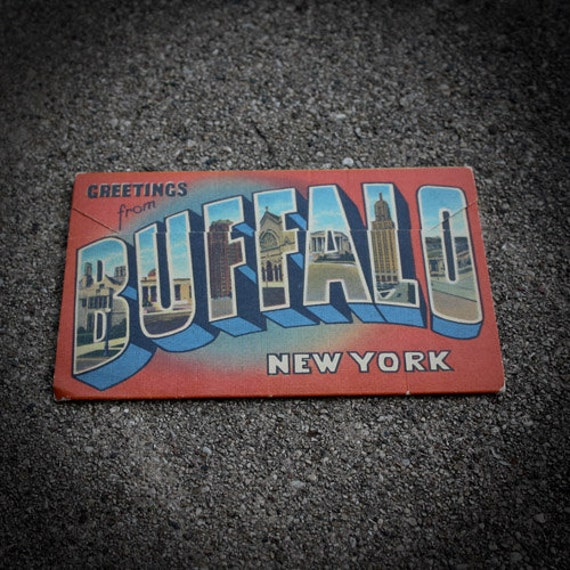 Greetings from Buffalo, New York Postcard