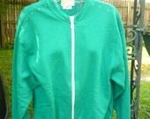 Hand Decorated Sweat Jacket
