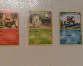 Pokemon Card Magnet 3 Pack
