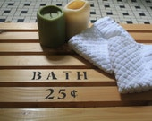 Bathroom Cedar Door Mat / Rug